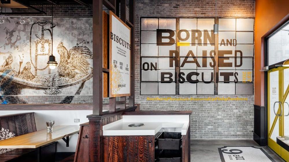 Holler & Dash biscuit houses by Cracker Barrel