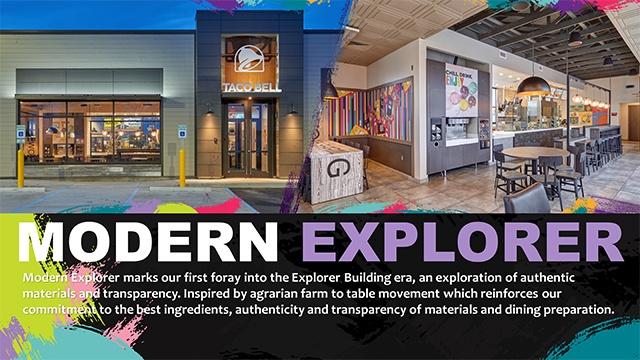Taco Bell' s New Design Concept Modern Explorer