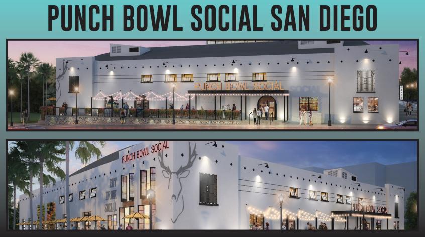 Bunch Bowl Social reopens San Diego's East Village landmark Coliseum