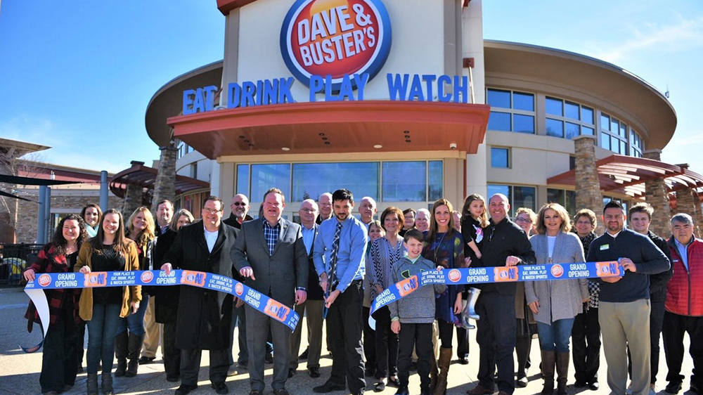 Dave and Busters unveiled two downsized locations in 2018