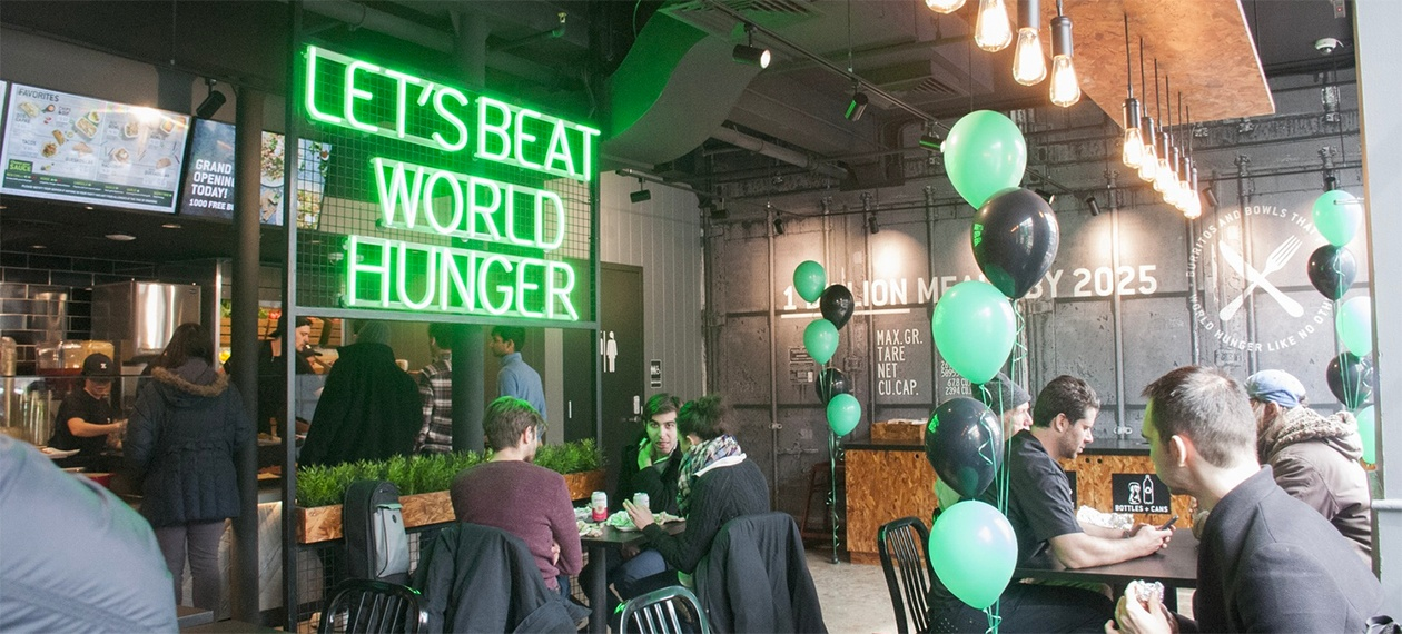 5 Chains Using Restaurant Design to Champion their Causes-1