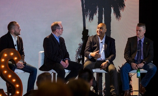 Suk Singh of Bloomin' Brands was part of the Taste of the Industry panel at RestaurantSpaces